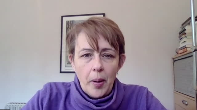 interview baroness tanni grey-thompson, paralympian, about law being introduced that makes it illegal for sports coaches and faith leaders to have... - persons with disabilities stock videos & royalty-free footage
