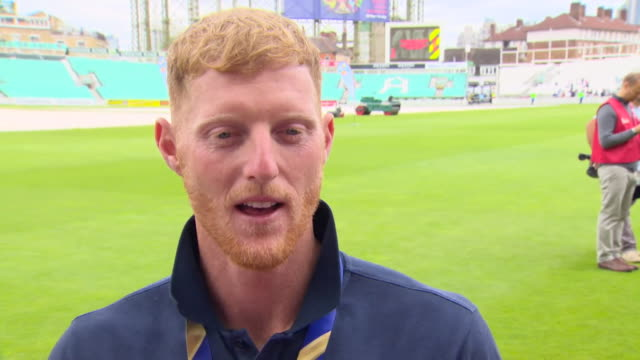 interview ben stokes england cricketer on winning the world cup final it's not set in yet but this is the start of it seeing how much it meant to... - world sports championship stock videos & royalty-free footage