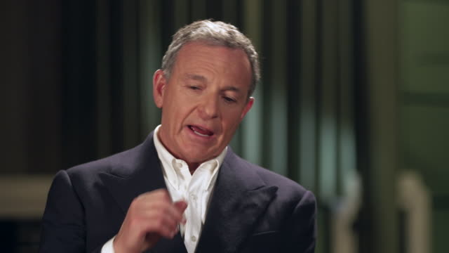 interview bob iger chief executive walt disney on why they were able to but 21st century fox from rupert murdoch he didn't believe the hand he had... - interview stock videos & royalty-free footage