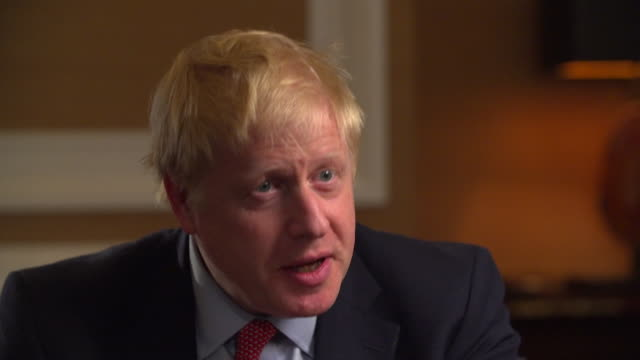 Interview Boris Johnson Conservative leadership candidate about speaking his mind Sorry if I cause offence but I will continue to speak my mind as...