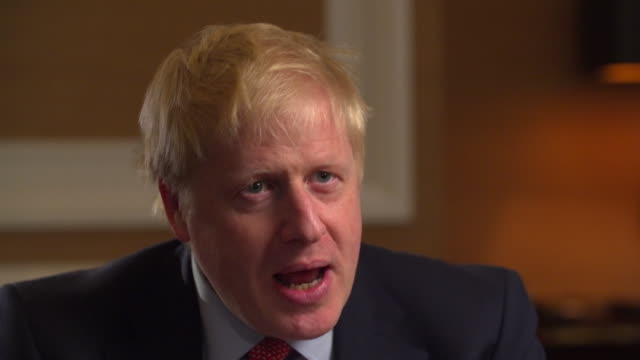 Interview Boris Johnson Conservative leadership candidate about getting Brexit through Politics has changed so much since March 29th on both sides of...