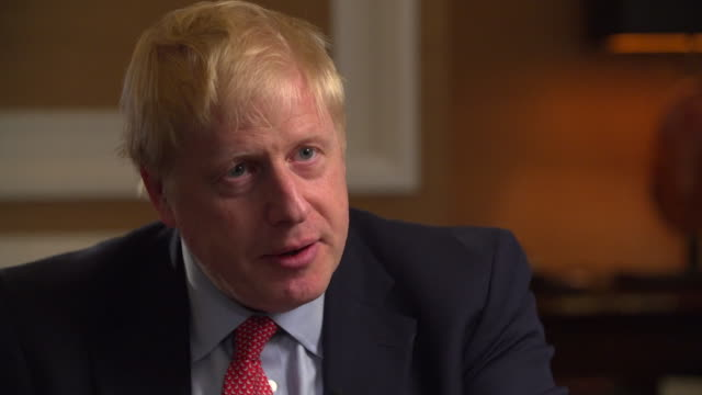 Interview Boris Johnson Conservative leadership candidate Be in no doubt at heart I am a centre right progressive modern conservative