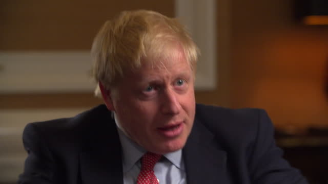 Interview Boris Johnson Conservative leadership candidate speaks about protecting his privacy and not talking about his personal life