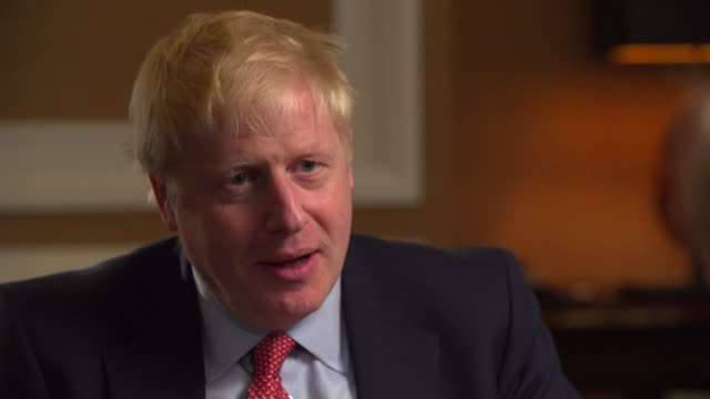 Interview Boris Johnson Conservative leadership candidate talks about preparing for a No Deal Brexit