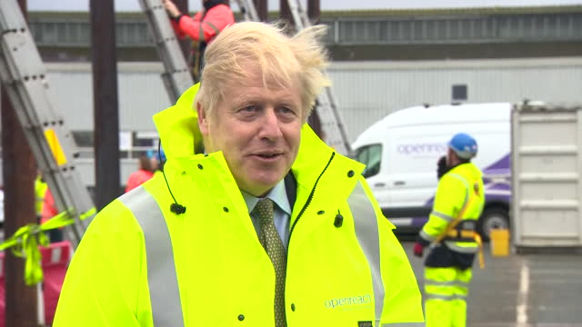 "interview boris johnson pm, about brexit trade negotiations with eu ""there is a gap that needs to be bridged, we have done a lot to help and hope the... - talking politics stock videos & royalty-free footage"