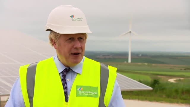 interview boris johnson pm, about importance of us president joe biden being able to visit europe for the g7 summit - effort stock videos & royalty-free footage