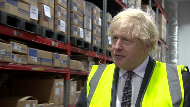 "interview boris johnson pm, about the covid-19 vaccine rollout ""it will be gradual as the situation is still pretty precarious"" - ""bbc news"" stock videos & royalty-free footage"