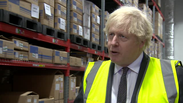 "interview boris johnson pm, about whether the increase in universal credit will continue ""we have to look after people throughout the pandemic"" - ""bbc news"" stock videos & royalty-free footage"