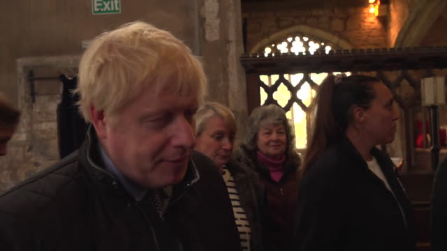 interview boris johnson pm on visit to flooded village of fishlake i've got massive sympathy and we're going to do all we can to help them - village stock videos & royalty-free footage