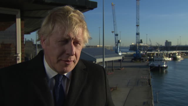 interview boris johnson pm says he's always been against early release of terrorists after london bridge attack it was in my 2012 manifesto i said it... - recovery stock videos & royalty-free footage