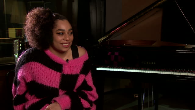 "interview celeste, on winning the bbc's sound of 2020 ""i can't wait now to see what the rest of the year looks like, i'm so thrilled and excited"" - happiness stock videos & royalty-free footage"