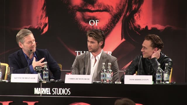 Chris Hemsworth talks about the experience of working alongside Sir Anthony Hopkins when he is in God mode before Kenneth Branagh talks about where...