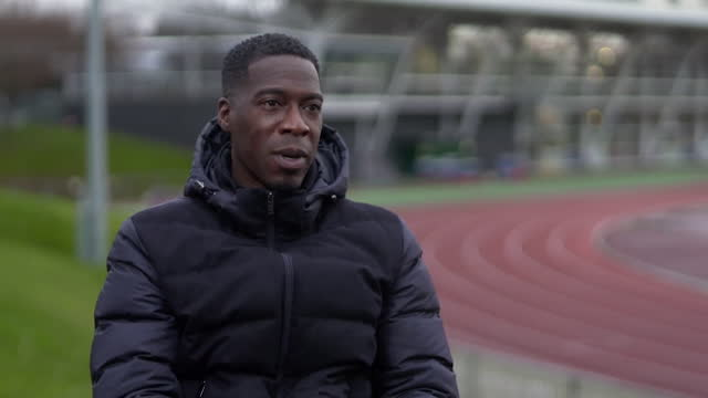interview christian malcolm, head coach british athletics, about his expectations for british athletes in the tokyo olympics - anticipation stock videos & royalty-free footage