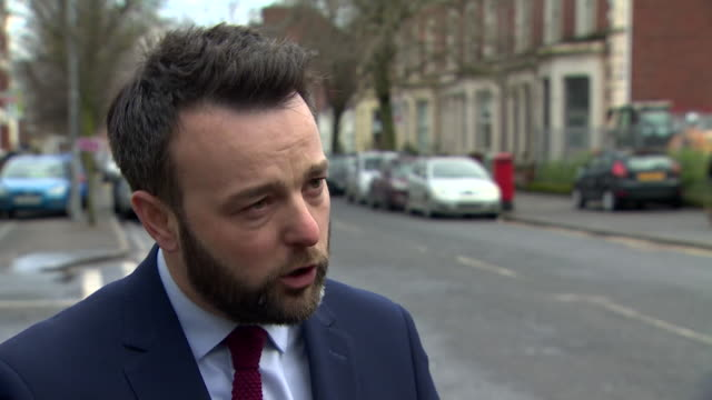 interview colum eastwood mp sdlp leader on julian smith being sacked as northern ireland secretary in the cabinet reshuffle i think he was the best... - being fired stock videos & royalty-free footage