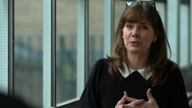 interview dame darcey bussell, president of royal academy of dance, about the organisation being a beneficiary of the government's culture recovery... - beneficiary stock videos & royalty-free footage