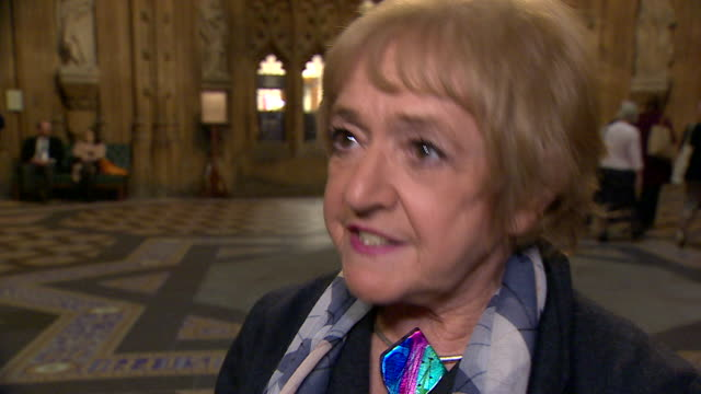 """interview dame margaret hodge on the suspension of chris williamson """"he has form, he's done this before, he's apologised before and then he does the... - mp stock videos & royalty-free footage"""