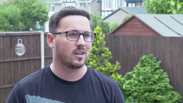 interview daniel keatings 2008 olympic gymnast talks about bullying within the sport of gymnastics - males stock videos & royalty-free footage