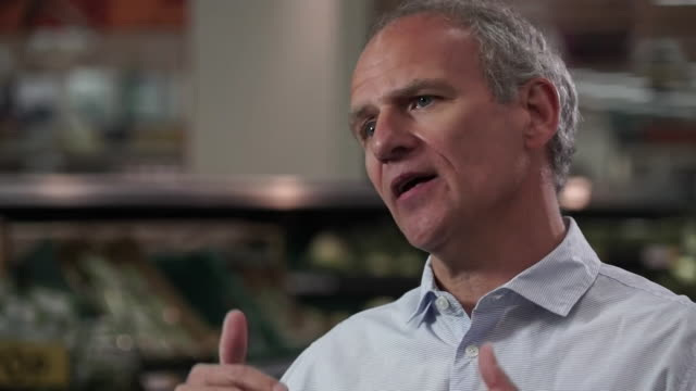 interview dave lewis tesco ceo explains how people have gone back to one big weekly food shop during the coronavirus pandemic - large stock videos & royalty-free footage