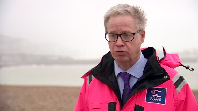 interview doug bannister, ceo dover port, hopeful france will reopen border to uk so freight transportation can move through dover, after it was... - medical research stock videos & royalty-free footage