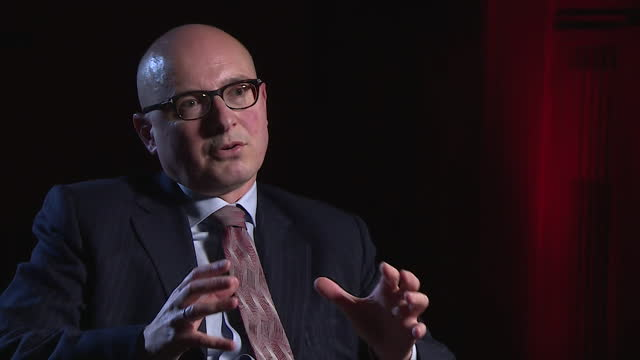 """interview dr andrew coscelli, cma, about the australia's proposed regulation of big tech platforms, such as google and facebook, as """"sensible"""" - australian politics stock videos & royalty-free footage"""