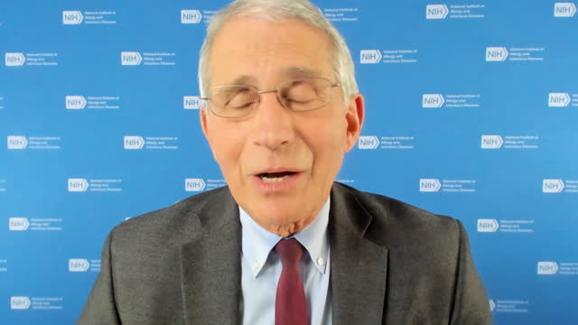 interview dr anthony fauci, us national institute of allergy and infectious disease, apologises for suggestion the uk regulators, mhra, approved the... - the americas stock videos & royalty-free footage