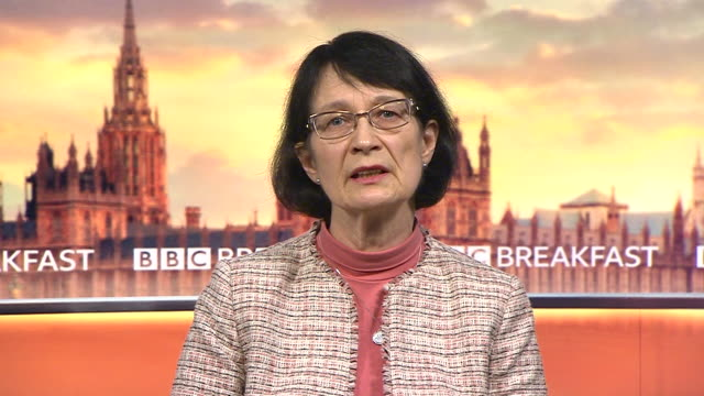 interview dr jenny harries england medical officer about schools reopening after coronavirus lockdown risk to children of not attending school is... - the way forward stock videos & royalty-free footage