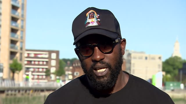 interview dumi oburota disturbing london about blackout tuesday and racial inequality in the music industry in response to the death of george floyd - african ethnicity stock videos & royalty-free footage
