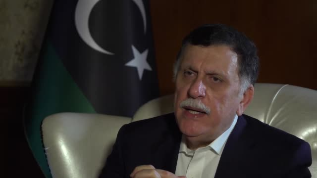 Interview Fayez AlSarraj Libyan PM about battle for power over Tripoli The Russians won't mention Haftar's name as the aggressor yet everyone knows...