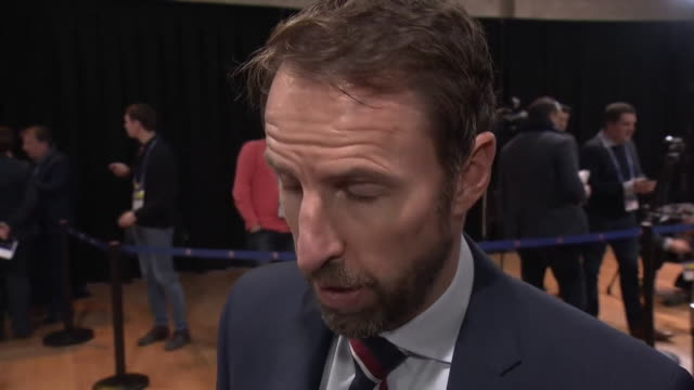 interview gareth southgate england manager on how coronavirus may affect euro 2020 the organisations are having conversations with the government all... - international team soccer stock videos & royalty-free footage