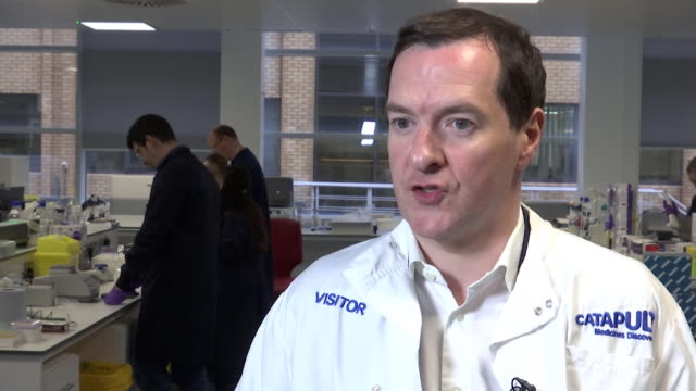 interview george osborne chair northern powerhouse partnership on hs2 it would be nuts to cancel to hs2 - colleague stock videos & royalty-free footage