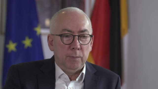 "interview gerd billen, german justice secretary, about social media regulation ""it is the task of government to maintain free speech but to stop it... - censorship stock videos & royalty-free footage"