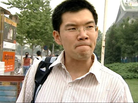 interview government official on tiananmen square massacre vox pops chinese people - tiananmen square massacre stock videos and b-roll footage