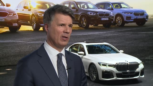 Interview Harald Kruger Chief Executive BMW speaking at the Geneva Motor Show about production of the Mini Cooper in the UK post Brexit We will see...