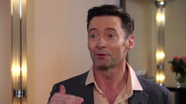 interview hugh jackman says he is dumbfounded at the success of the greatest showman - bad news stock videos & royalty-free footage