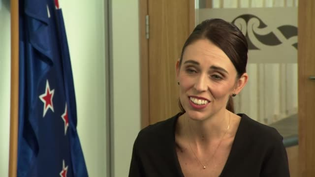Interview Jacinda Ardern Prime Minister of New Zealand speaking after the Chistchurch Mosque terror attack 'This was a community that was already...