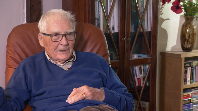interview james lovelock scientist talks about working for nasa - one man only stock videos & royalty-free footage