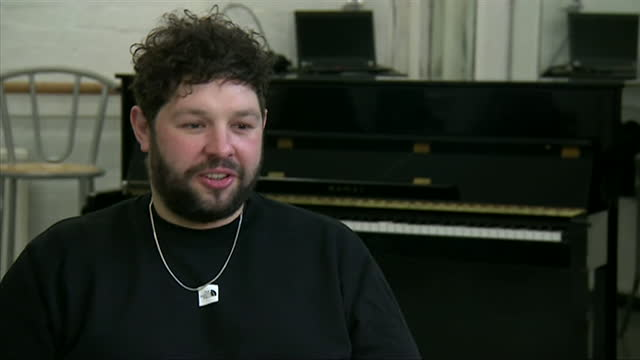 interview james newman, singer songwriter and uk eurovision 2021 entry, about performing at eurovision after coronavirus lockdown - シンガーソングライター点の映像素材/bロール