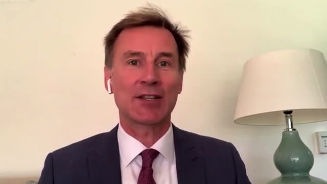 interview jeremy hunt mp health select committee about coronavirus testing you really need the results of the tests back in 24 to 48 hours - choice stock videos & royalty-free footage