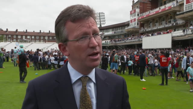 interview jeremy wright mp about tv rights for cricket matches money from tv rights does go back into the game balanced against getting as many... - world sports championship stock videos & royalty-free footage
