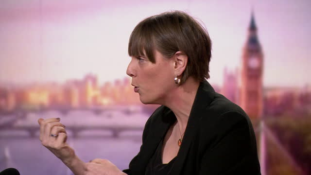 interview jess phillips, shadow minister for domestic violence, on andrew marr, about how she thinks sentences should be increased for crimes such as... - party social event stock videos & royalty-free footage
