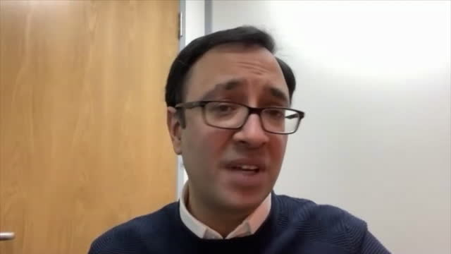 "interview jit desai, head of holidays and travel national express, about people booking holiday again since the release of the covid-19 vaccine - ""bbc news"" stock videos & royalty-free footage"
