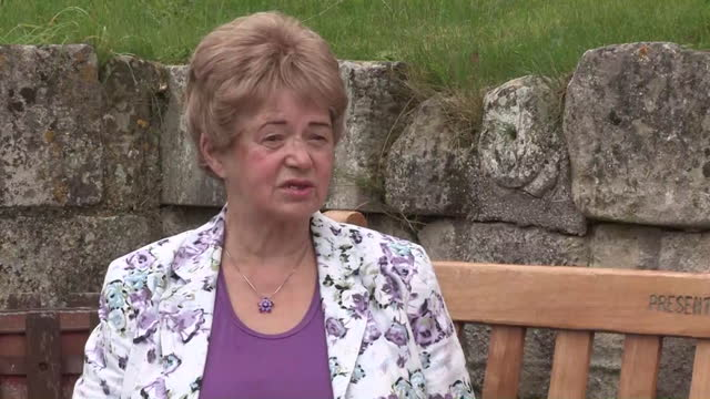 interview joan lawrence, mother of claudia lawrence, about the disappearance of her daughter as police begin a new search at fishing lakes near york... - daughter stock videos & royalty-free footage