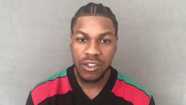 interview john boyega, actor, on why he was interested in playing leroy logan in red white and blue, one of the first black officers in the... - white stock videos & royalty-free footage