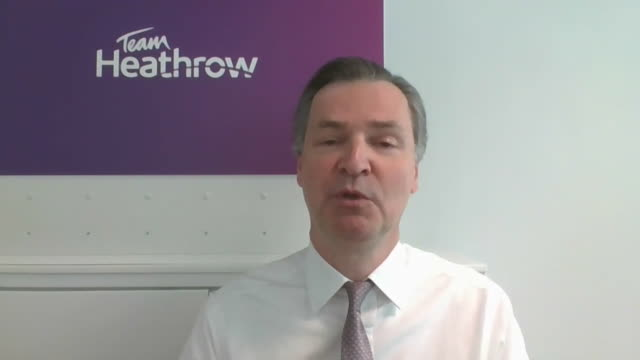 interview john hollandkaye ceo heathrow airport about how the uk can resume international travel including the introduction of temperature checks for... - gate stock videos & royalty-free footage