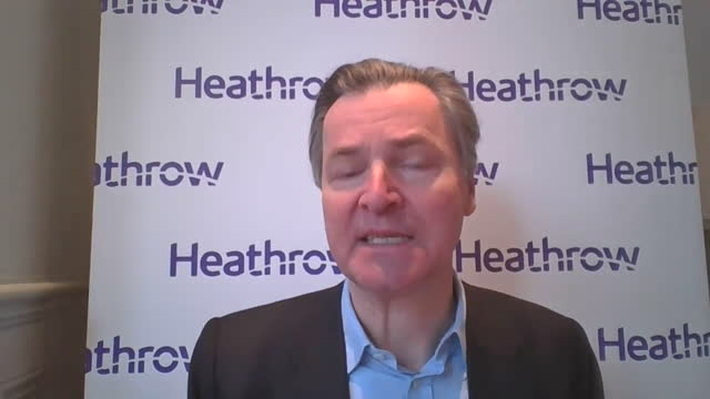 interview john holland-kaye, ceo heathrow airport, about the devastation to the uk aviation sector if travel is banned due to coronavirus pandemic - destruction stock videos & royalty-free footage