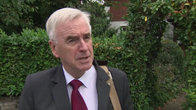 interview john mcdonnell shadow chancellor about allegations of anti semitism in the labour party on bbc panorama some serious charges that have been... - whistleblower human role stock videos & royalty-free footage