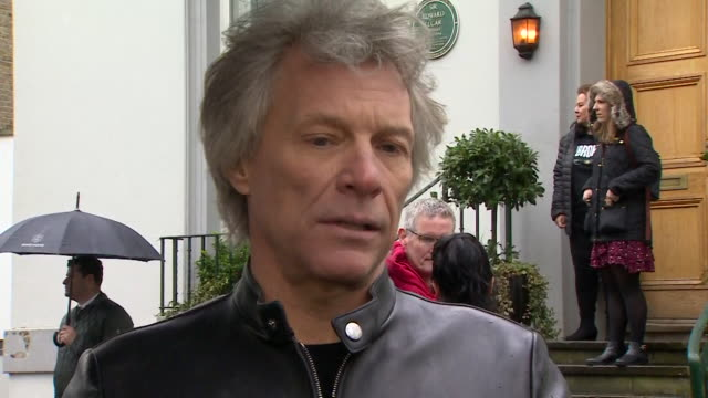 interview jon bon jovi about prince harry stepping back from royal duties i'd be wrong to comment noone knows what it's like to walk in his shoes our... - steps stock videos & royalty-free footage