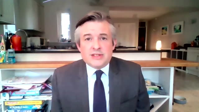 """interview jonathan ashworth, shadow health secretary, says he won't support coronavirus vaccine passports for going into retail shops """"i think that... - party social event stock videos & royalty-free footage"""