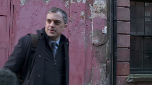 interview julian smith walking to 10 downing street for the cabinet reshuffle where he found out he lost his position as secretary of state for... - being fired stock videos & royalty-free footage