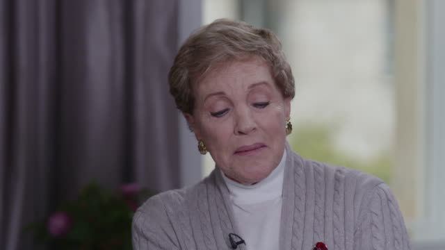interview julie andrews about deciding to keep her feet turned out when she played mary poppins - foot stock videos & royalty-free footage